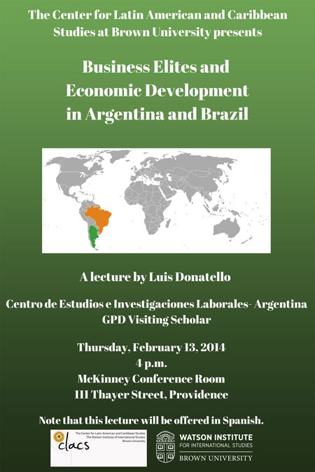 Business Elites and Economic Development in Argentina and Brazil