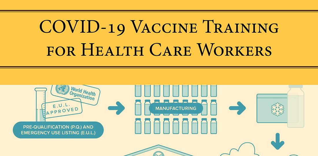Vaccine Training Report cover