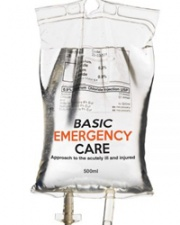 IV bag for basic emergency care