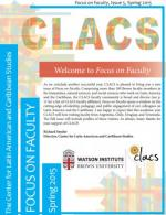 Focus on Faculty Issue 5