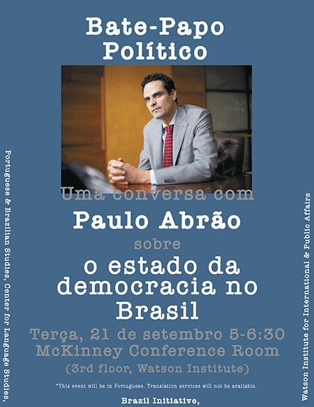 Bate popo politico poster