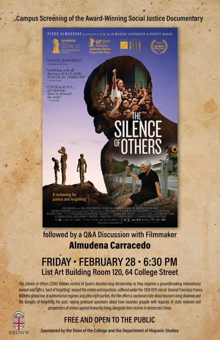 Silence of Others Film Poster