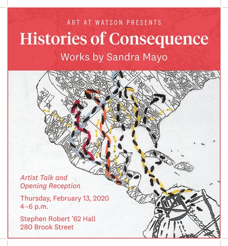 Sandra Mayo event poster
