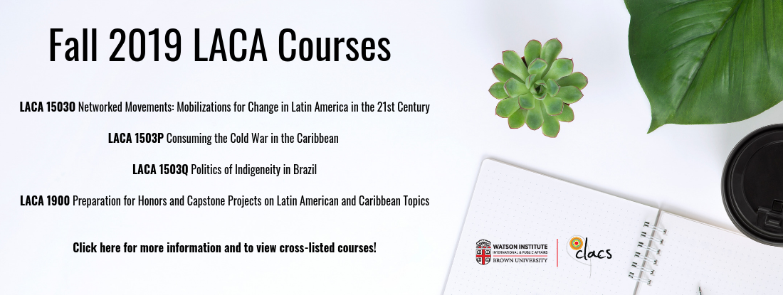Fall 2019 LACA Courses