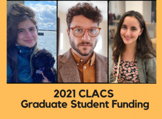 CLACS Graduate Student Funding for 2021