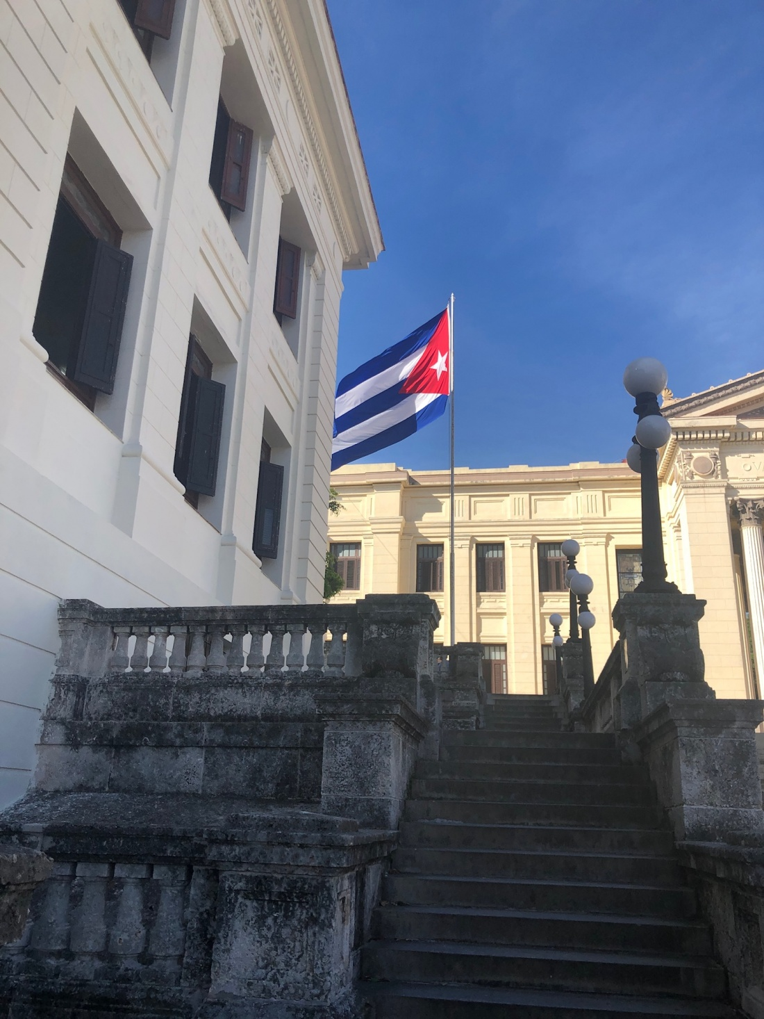 Steps of the University of Havana - Photo Credit to Adriana Rodriguez