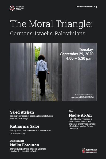 Sa'ed Atshan and Katharina Galor  – The Moral Triangle