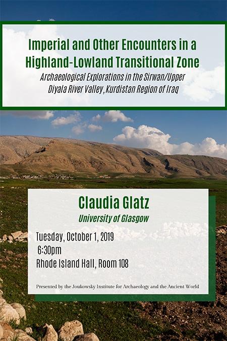 Claudia Gatz event poster