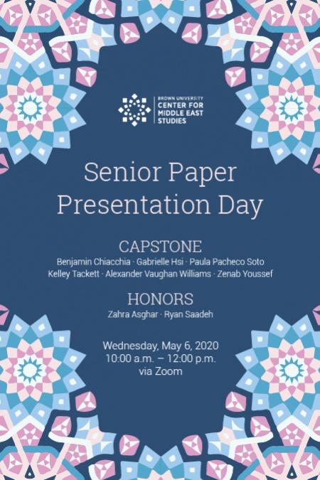 MES Senior Paper Day 2020