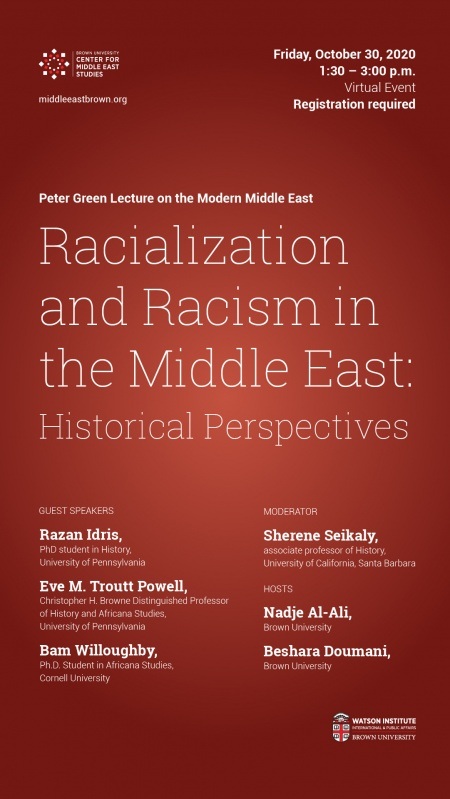 racialization and racism in ME