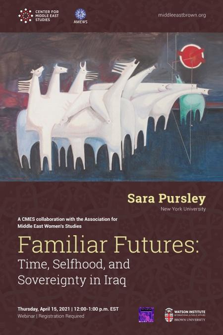 Familiar Futures event poster