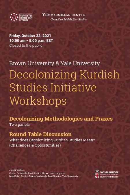 Decolonizing Kurdish Studies Poster