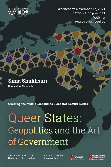 Queer States: Geopolitics and the Art of Government Poster