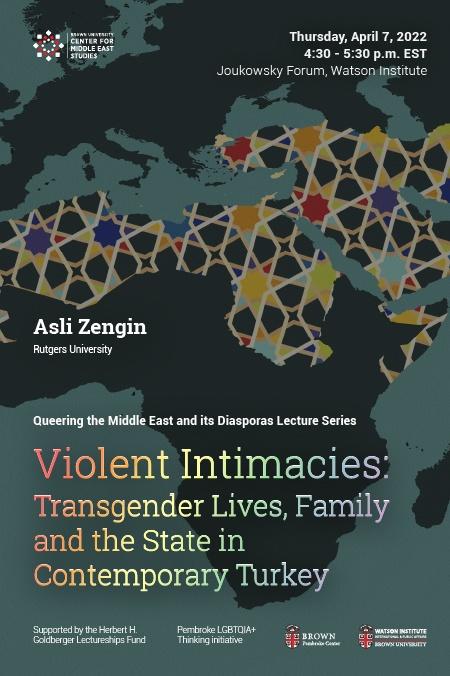 Violent Intimacies, Aslı Zengin Poster