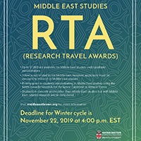 Research Travel Award poster