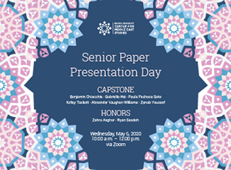 MES Senior Paper Presentation Day 2020