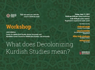 Decolonizing Kurdish Studies