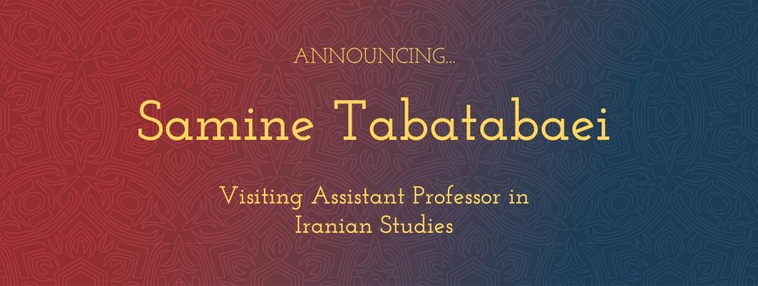 VAP Iranian Studies Samine Tabatabaei