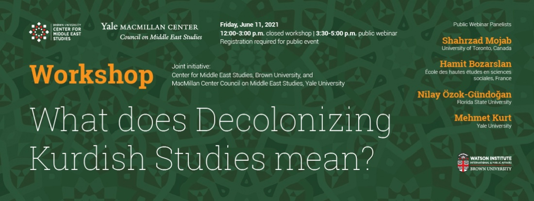 Workshop: Decolonizing Kurdish Studies