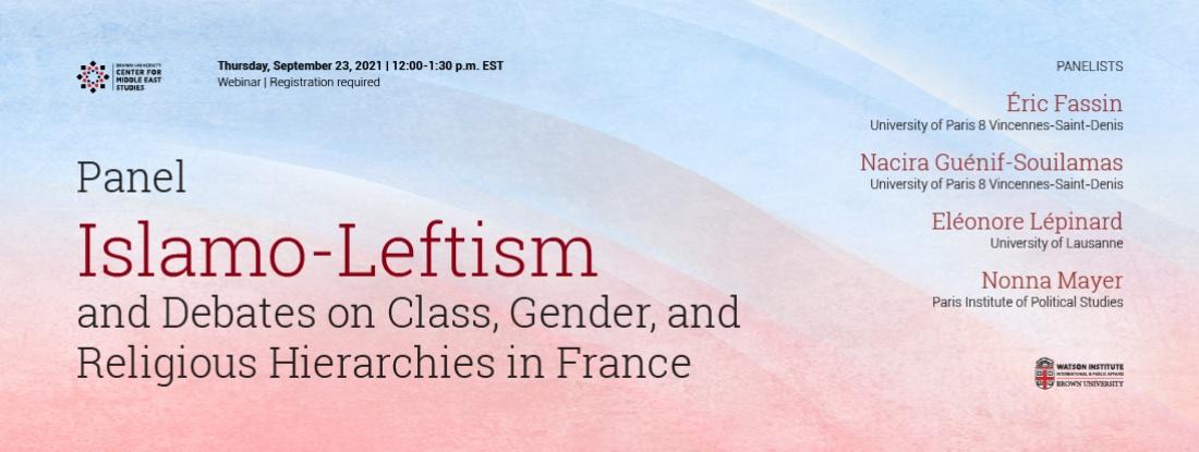 Islamo-Leftism France