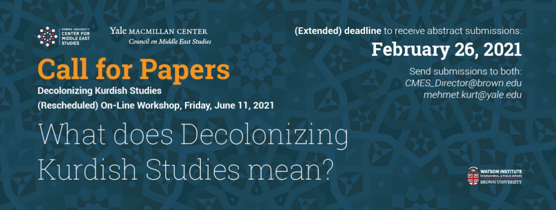 Call for Papers Kurdish Studies