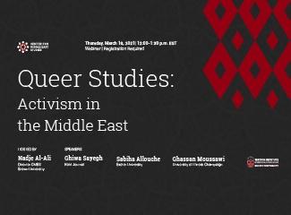 Queer Studies event poster