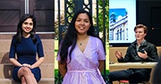 Anchita Dasgupta, Huma Ramazan Ali, Liam Walk