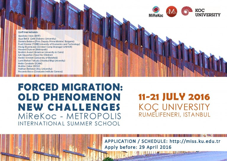 Migration Research Center Opportunities