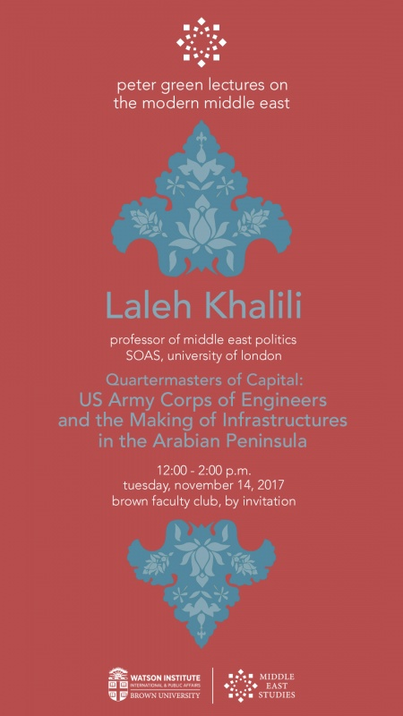 Laleh Khalili at Brown University