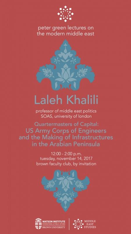 Laleh Khalili at Brown University