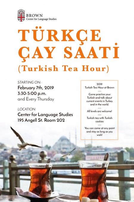 Türkçe Çay Saati
