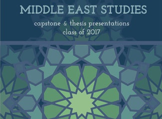 Middle East Studies Paper Presentations 2017