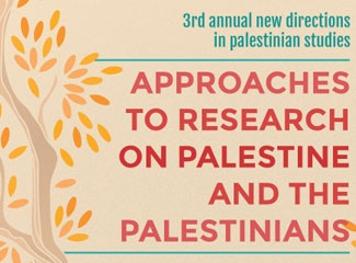 New Directions in Palestinian Studies