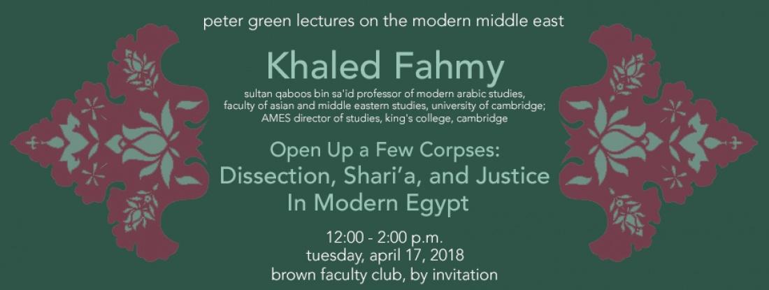 Khaled-Fahmy Peter-Green