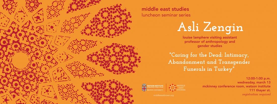 Asli Zengin event poster