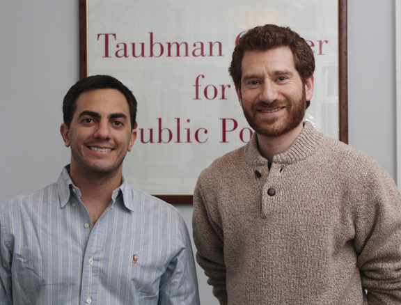 Santiago Alban (left) and Jed Greenberg