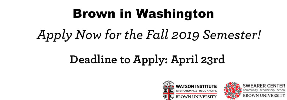 Apply to the program by April 23rd, 2019