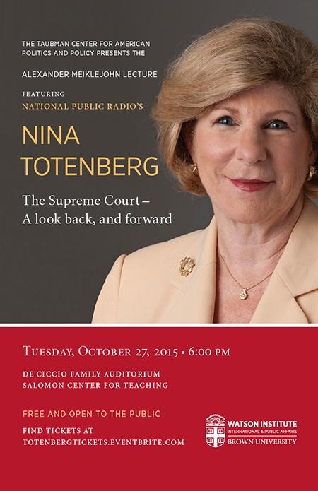Nina Totenberg Tickets