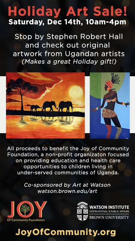 Joy of Community Foundation Holiday Art Sale