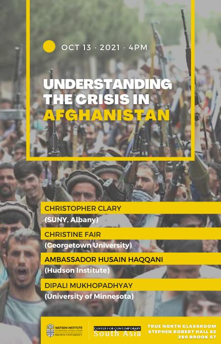 Understanding the Crisis in Afghanistan