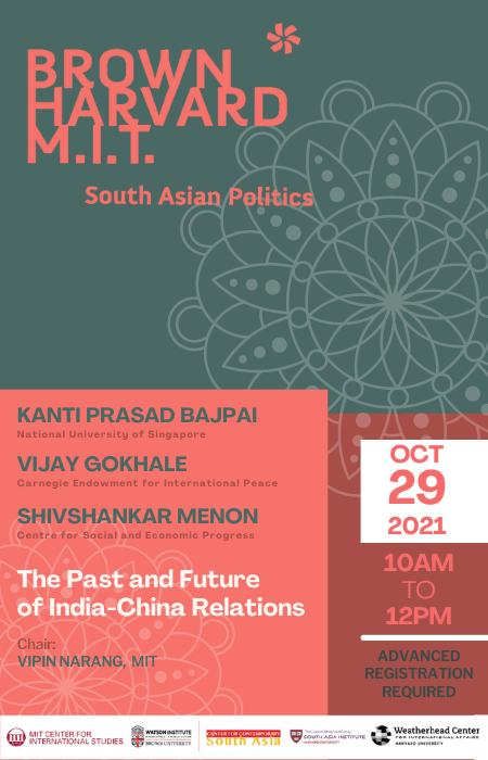 The Past and Future of India-China Relations