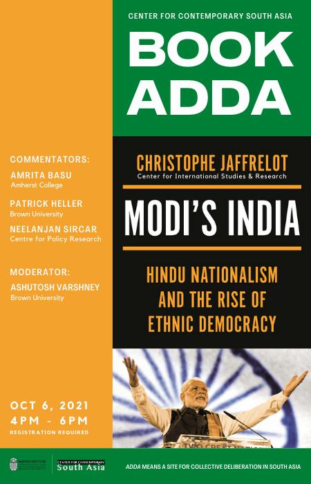 Modi's India poster