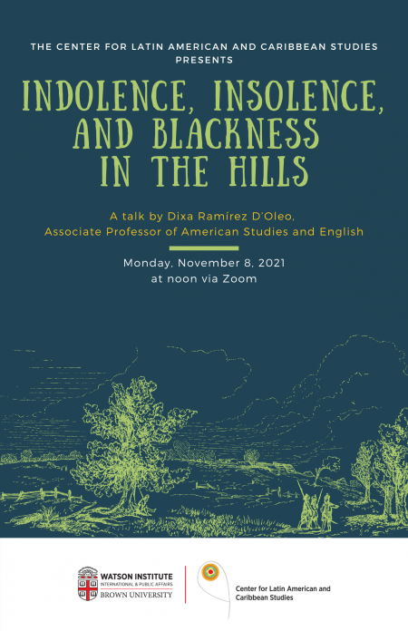 Indolence, Insolence, and Blackness in the Hills poster