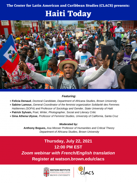 CLACS Haiti Today