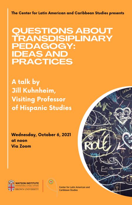 CLACS orange poster (faculty talk)