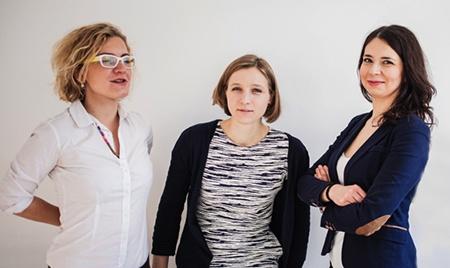Aleksandra Goldys, Maria Szymborska, Maria Rogaczewska