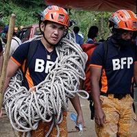 Philippines Landslide Relief Efforts