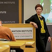 Angela Blanchard, president emerita of BakerRipley