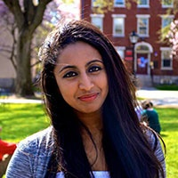 Nikhita Mendis, Brown University