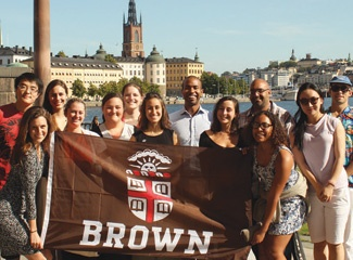 MPA Students in Sweeden for their Global Policy Experience